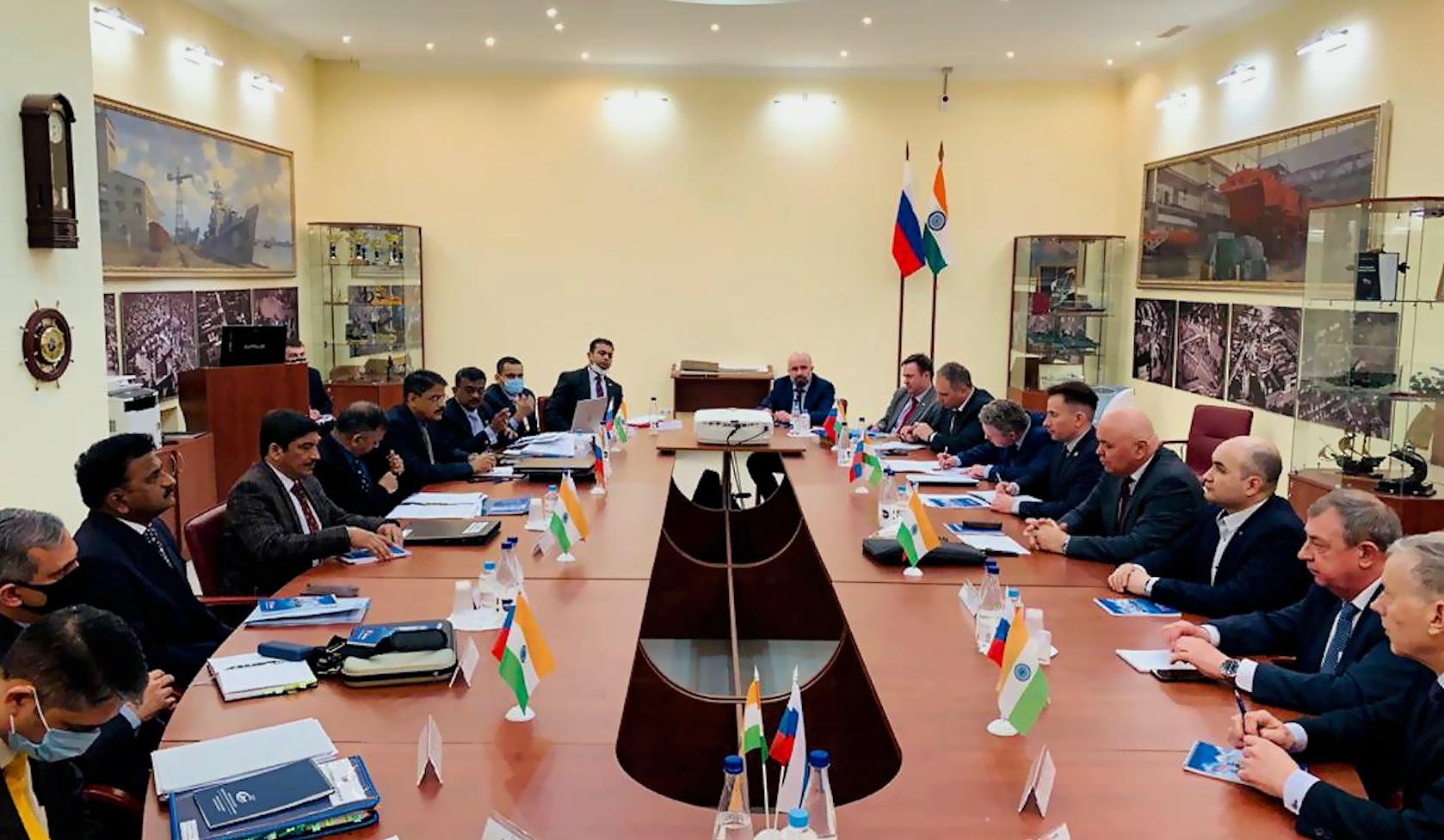 Индийский заказчик оценил ход строительства  фрегатов на АО «ПСЗ «Янтарь»
